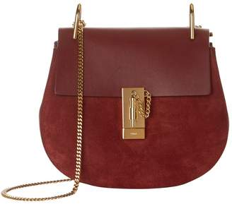 Chloé Small Leather Drew Shoulder Bag