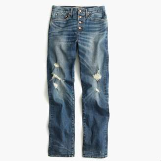 J.Crew Point Sur high-rise stacker jean
