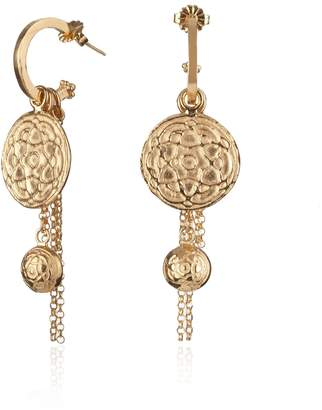 Jamila Maro - Gold Byzantine Earrings