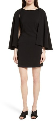 Women's Tracy Reese Cape Shift Dress $298 thestylecure.com
