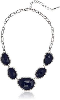 T Tahari Mystic Sands Women's Frontal Statement Necklace With Stones