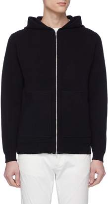 Theory 'Alcos' cashmere knit zip hoodie