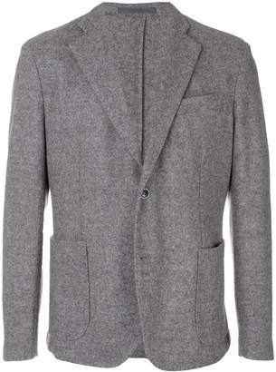 Eleventy textured fitted blazer