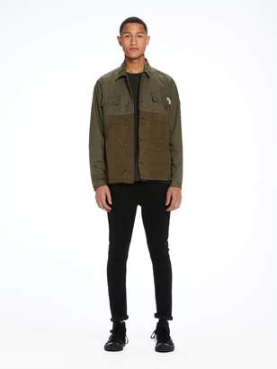Scotch & Soda Military Shirt Jacket