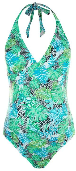 Topshop Topshop Maternity geometric print swimsuit