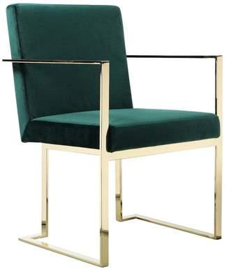 Dexter Pangea Home Gold Arm Chair