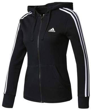adidas Women's Essentials 3-Stripes Full Zip Hoodie