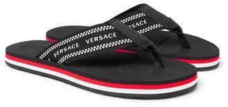 38b466435cda Versace Black Rubber Sole Shoes For Men - ShopStyle Australia