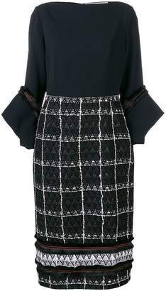 Roland Mouret fitted knitted dress