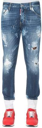 DSQUARED2 Dsquared Bleached Skinny Dan Jeans