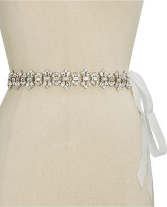 kate spade new york Rhinestone Ribbon Bridal Belt $88 thestylecure.com