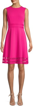 Calvin Klein Collection Sleeveless Fit-&-Flare Dress