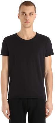 Calvin Klein Jeans Logo Detail Light Cotton Jersey T-Shirt
