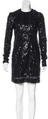 Victoria Beckham Embellished Mini Dress w/ Tags