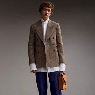 Burberry Donegal Herringbone Wool Tweed Blazer $1,595 thestylecure.com