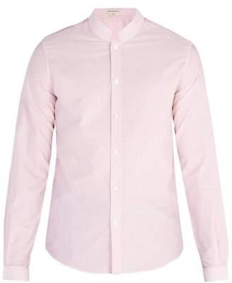 éditions M.r - Officer Collar Shirt - Mens - Pink