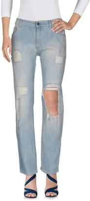 Manila Grace DENIM Denim pants - Item 42593452WA