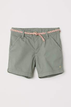 H&M Bermuda Shorts - Green