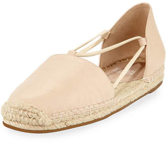 Eileen Fisher Lee Leather Espadrille Flat $135 thestylecure.com