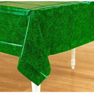Amscan Green Grass Plastic Tablecover