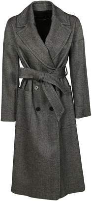 Tara Jarmon Herringbone Trench Coat