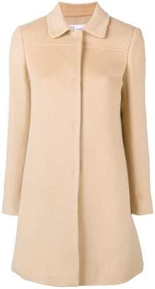 RED Valentino single breasted midi coat