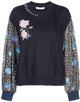 Tsumori Chisato floral print sweater