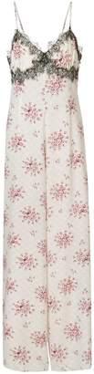 Morgan Lane floral print jumpsuit