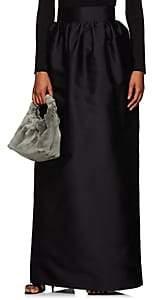 The Row Women's Ranel Silk Long Skirt - Black