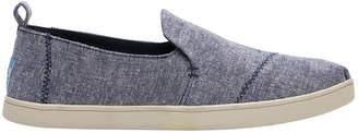 Toms Deconstructed Alpargata 10010882 Navy Slub Chambray Sneaker