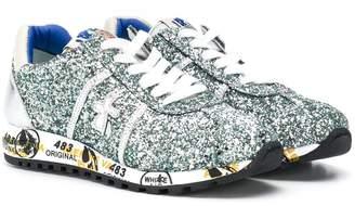Premiata Kids Lucy glitter sneakers