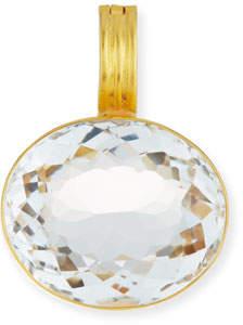 Dina Mackney Rock Crystal Oval Enhancer