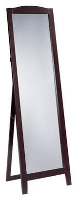 Pilaster Designs Persia Cherry Wood Frame Contemporary Rectangle Floor Standing Mirror 18 x 64