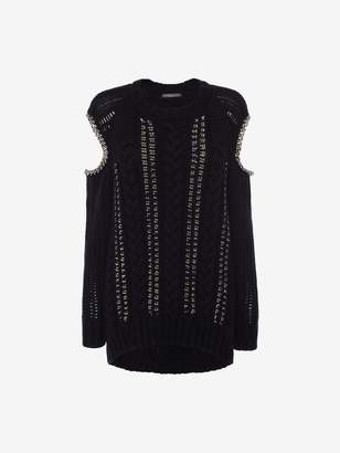 Alexander McQueen Chain Knit Sweater