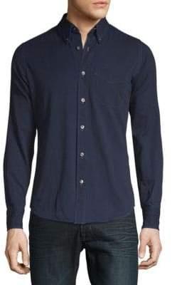 Tom Ford Casual Denim Button-Down Shirt