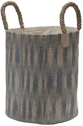 Laundry by Shelli Segal Pacific Laundry Basket - Ikat - The Dharma Door