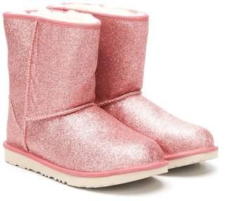 UGG (アグ) - Ugg Australia Kids TEEN glitter slip-on boots