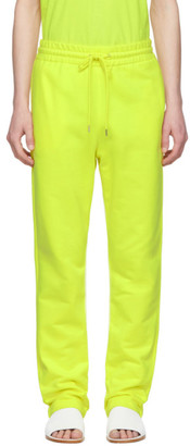 A-Plan-Application Yellow Terry Lounge Pants