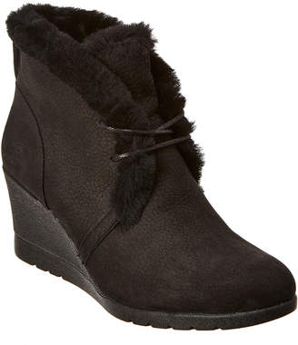 UGG Women's Jeovana Waterproof Leather Wedge Boot