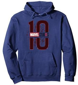 Marvel Studios 10 Years Icon Fade Logo Long Sleeve Tee