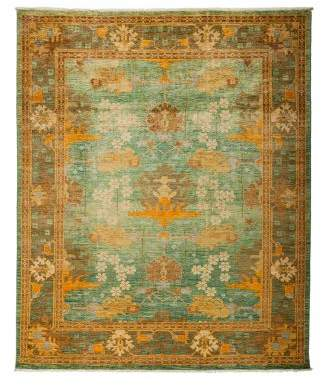 Solo Rugs Arts and Crafts Area Rug, 8' x 9'7""