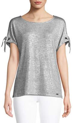 Calvin Klein Self-Tie Cuff T-Shirt