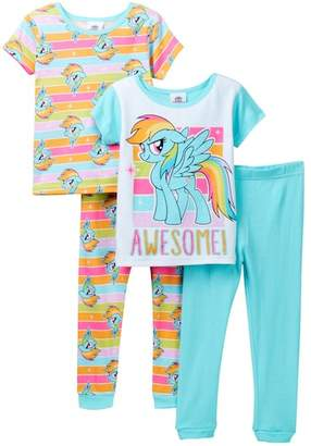 My Little Pony EMOJI Rainbow Bright Awesome Cotton PJs - Set of 2 (Little Girls & Big Girls)