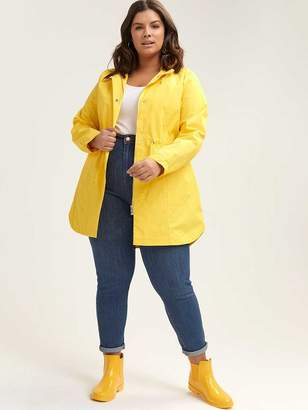 805ab6777f1 at Penningtons Plus · Mid-Length Parka Rain Jacket with Hood - In Every  Story