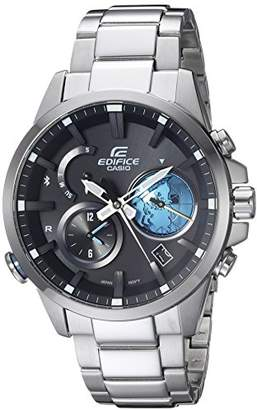 Casio Men's 'Edifice Connected' Quartz Stainless Steel Casual Watch