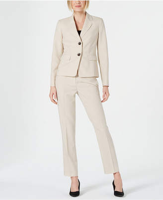 b4a334e4d1c3d Le Suit Petite Pinstriped Pants Suit