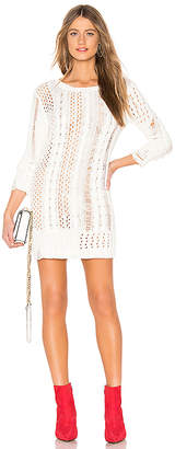 Lovers + Friends Distress Me Sweater Dress