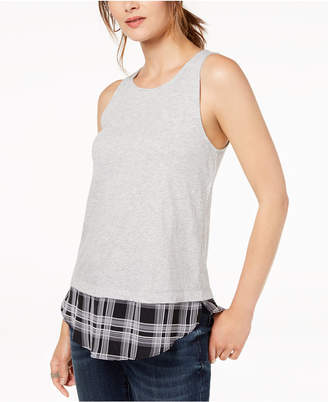 INC International Concepts I.n.c. Layered-Look Tank Top, Created for Macy's