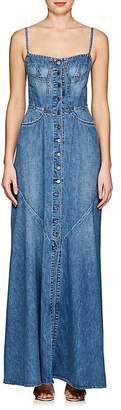Atelier Jean Women's Agnes Denim Maxi Dress