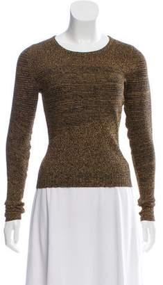 Derek Lam Knit Long Sleeve Top